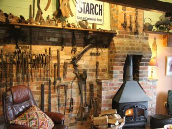 The Smithy and all the original Blacksmiths tools