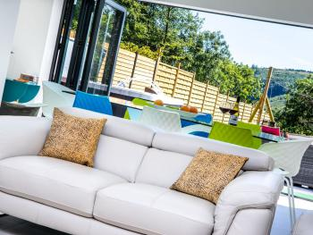 Open Plan Lounge and Dining Room with Bi-folding doors
