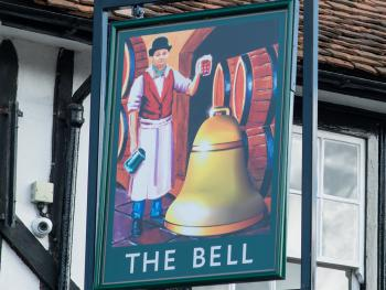 The Bell Hotel Sign