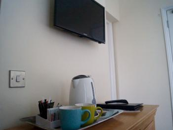 TV/Coffee in all Rooms