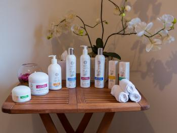 Alladale's own unique range of organic toiletries
