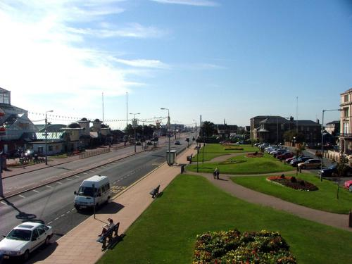 A view along the Prom from His Lordship's Suite