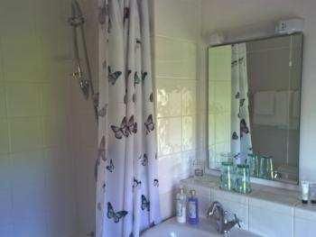 King-Ensuite with Bath-shower over bath