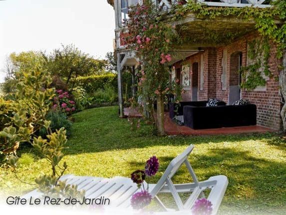 Gîte Jardin (Villa Marguerite) - Vue mer