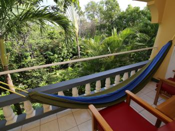 Every room has a view with hammock