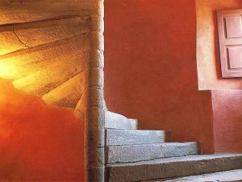 Escalier d'honneur, vers les chambres