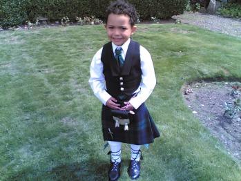 Ellis attends a wedding at Carlton Seamill