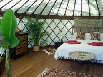 Yurt with Private Bathroom