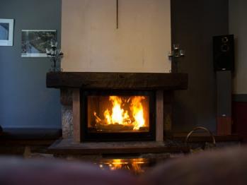 salle à manger 1- cheminée