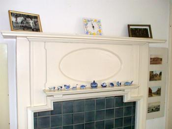 Arts & Crafts fireplace, Ainslie Bedroom, Carlton Seamill