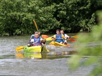 Canoë-kayak sur l'ognon