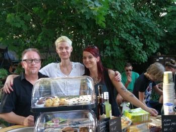 Das Team, Stefan , Julia und Sabine
