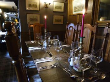 Dining for up to 8 in the Oak Room