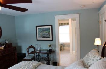 Monet Room view to the bathroom