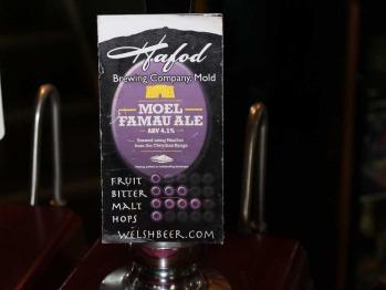 Local Mmoel Fammau ale as seen on Countryfile