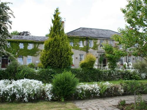 Ty Newydd Country Hotel amongst beautiful gardens.