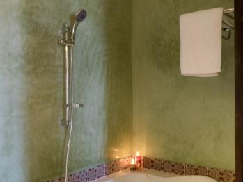 Baignoire et salle de bain