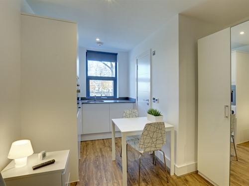 Studio-Private Bathroom-Park View-Single Studio - Base Rate