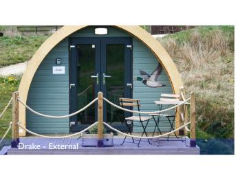 Hut-Standard-Shared Bathroom-Terrace-Glamping