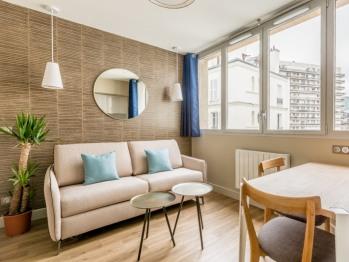 Cosy appartement une chambre - Vue cour