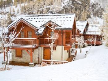 Chalet-Prestige-Salle de bain et douche-Vue sur Montagne-Alpen Roc - Valloire