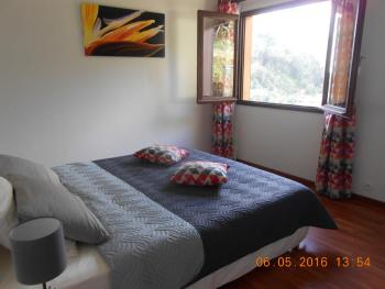 Chambre double vue montagne