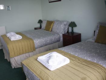 Triple room - one double bed and one single bed