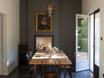 Salon petit dejeuner interieure