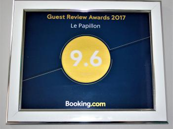 booking.com 2017 award