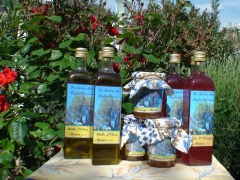 Huile d'olives, Confitures Maison