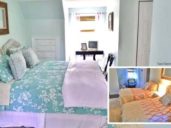 Bermuda room as king or twin beds