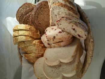 Breakfast - A selection of breads