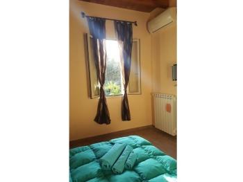 Casa-Suite-Bagno in camera con doccia-Vista giardino