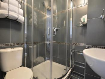 En-suite shower room with power shower, Room 4 Superking/Twin