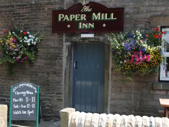 Paper Mill Entrance