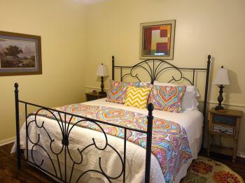 Texas Cottage Bedroom #2 - king size bed