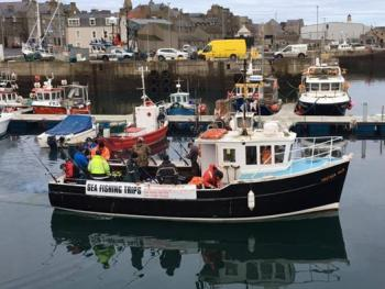 Fishing trips and sightseeing tours. Leaving from Fraserburgh harbour