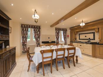 Kitchen available for full house bookings
