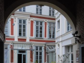 porche de l'entrée appartement 1