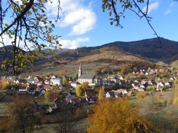 Notre village au coeur de l'Asace