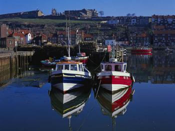 Nearby fishing town of Whitby (within an hours drive)