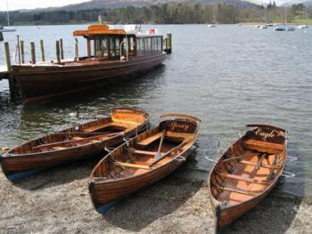 Boats to hire on Lake Windermere