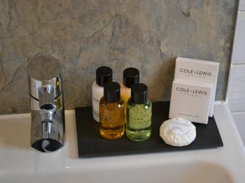 Complementary Toiletries in all guest bathrooms
