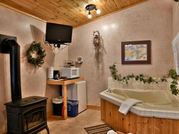 Cottage Interior with Jacuzzi