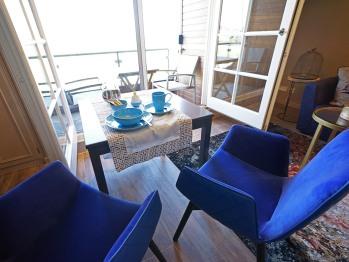 Gästezimmer mit freiem Blick die Heide und aufs Wattenmeer