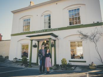 Sidney House - Sidney House B&B owners Alexandra & Anthony Thornton-Hopwood
