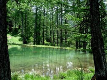 Le petit lac du Lauzerot