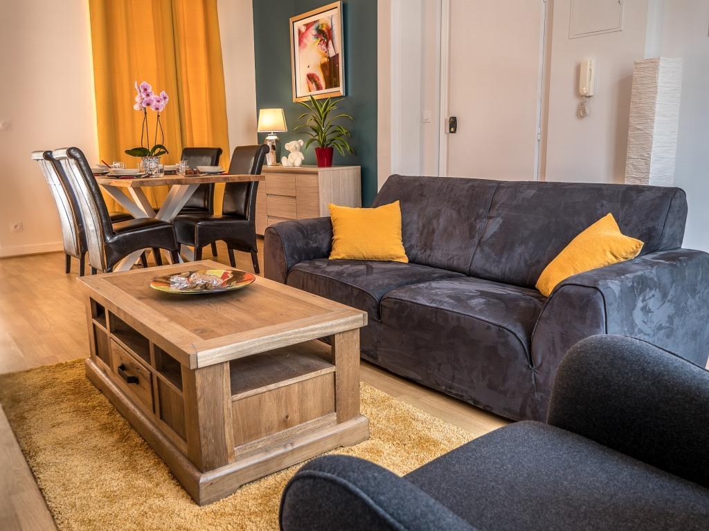 Appartement Les Orchidées Portail Louis Saumur