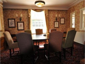 Private Family Dining seating 10 people