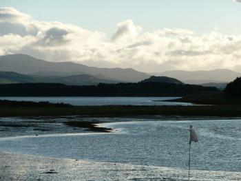 Looking toward 'Struie Hill' from Skibo Castle